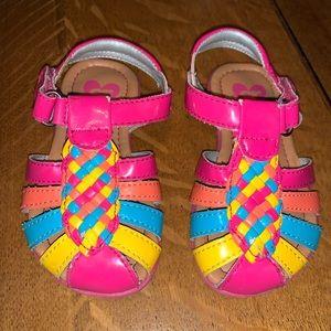 Stride Rite, Baby Colette bright sandal - size 5